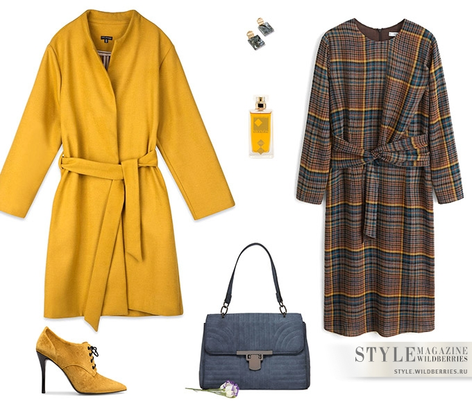 Модные цвета осени: 5 образов от стилистов
