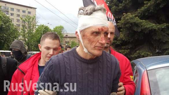 Такого празднования Киев еще не видел (ВИДЕО А. Шария) | Русская весна