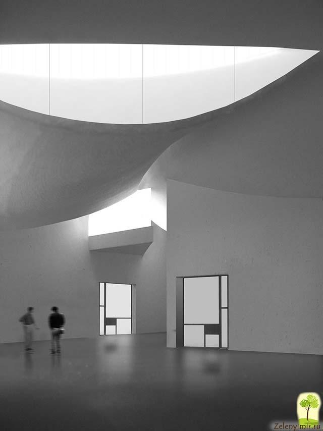 Музей современного искусства Киасма в Хельсинки, Финляндия - 13