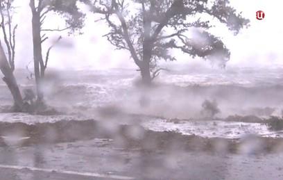 """Как США переживают мощный ураган """"Майкл"""""""
