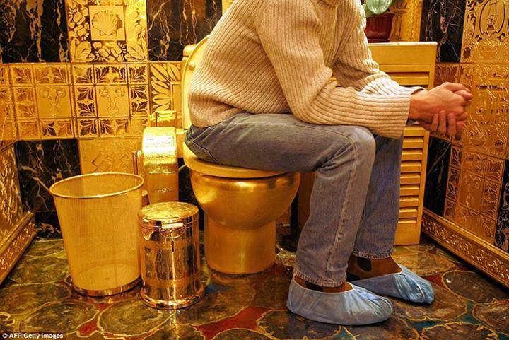 Самый шикарный туалет мира