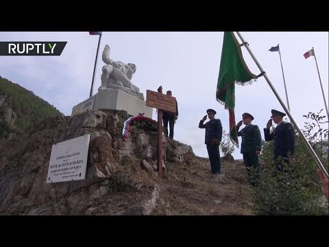 В Италии почтили память погибшего при освобождении Пальмиры российского офицера Прохоренко