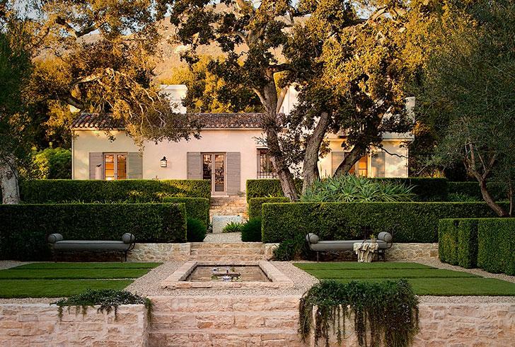 Роскошный особняк в средиземноморском стиле в Калифорнии