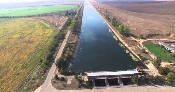 Нардеп предупредил, что херсонцы готовы снести дамбу в Северо-Крымском канале