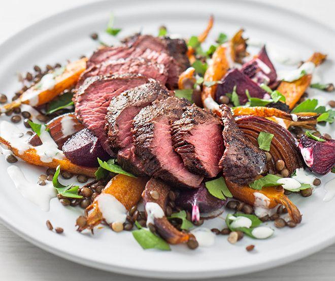 стейк из мяса кенгуру