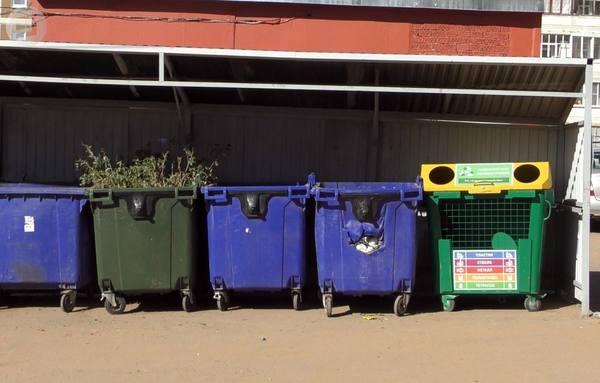 В Ижевске установили 5 дополнительных контейнеров для раздельного сбора мусора