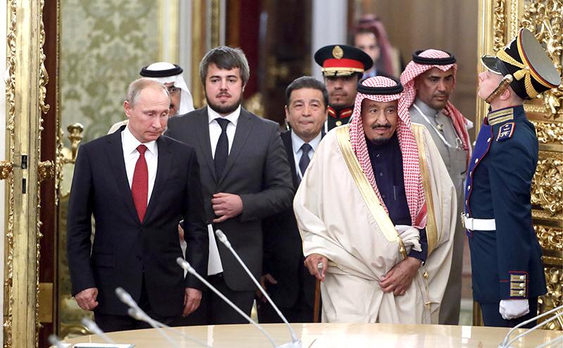 Король саудитов попал в чёрный список за связь с Кремлем