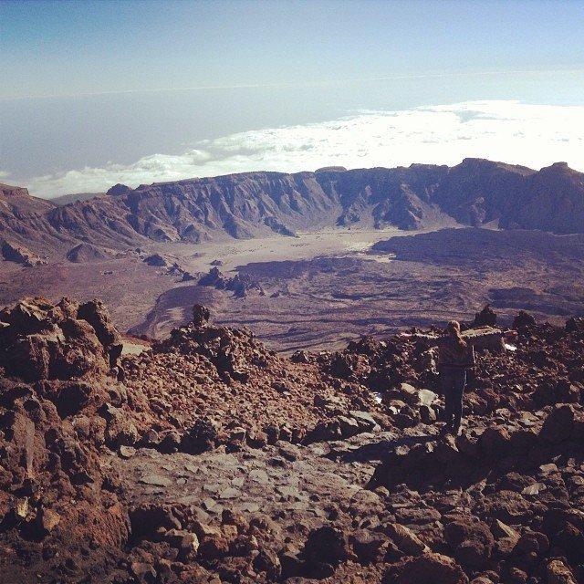 Тейде — вулкан на острове Тенерифе марс, марсианские пейзажи, необычная местность, пейзажи, похоже на Марс, странная местность