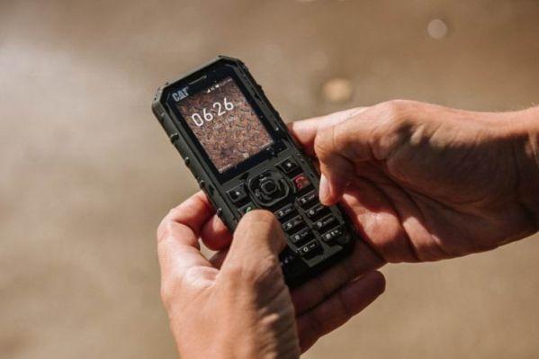 Cat B35 – кнопочный телефон …