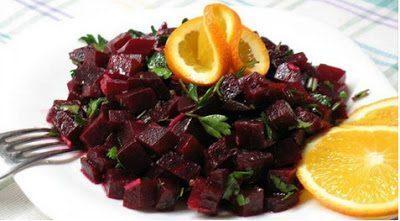 Свекольный салат по-итальянски