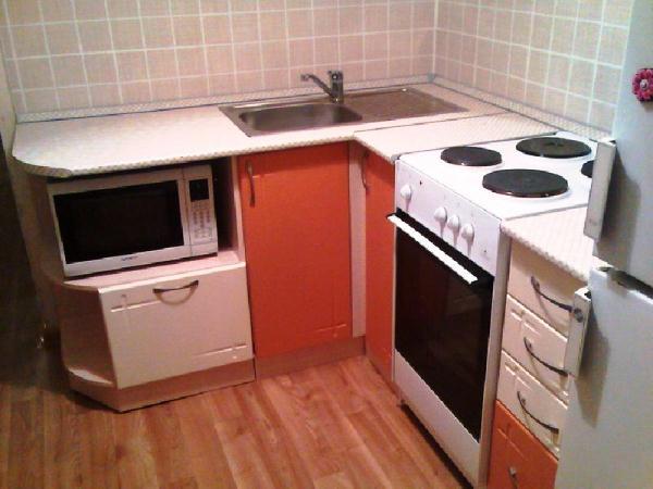 маленькая кухня в хрущевке фото 5