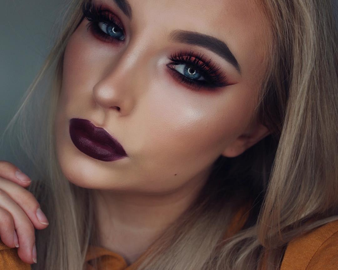 Неотразимые идеи макияжа для встречи Нового года 2018