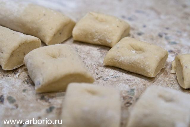 gnocchi Картофельные ньокки.