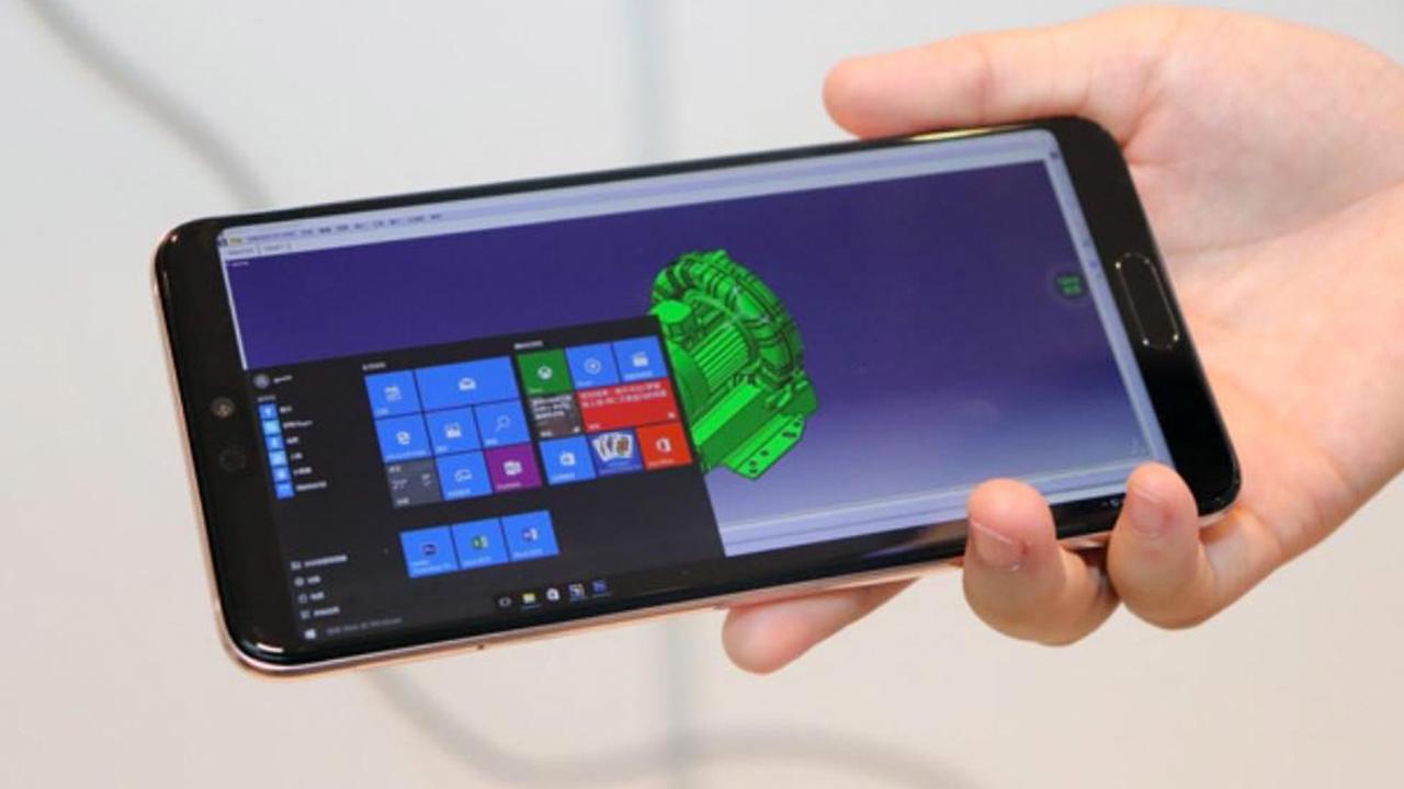 Windows 10 заработает на смартфонах Huawei через облако