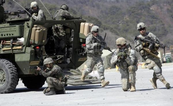 Американских солдат начали натаскивать на Россию