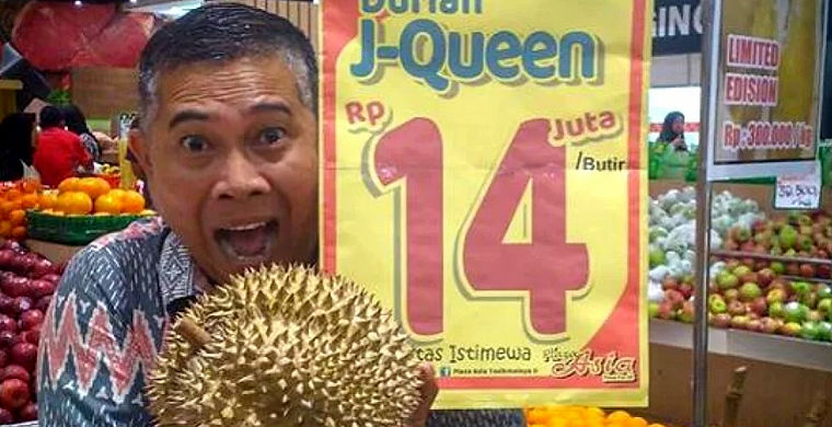 Редкий фрукт, запрещенный к провозу, продается за $1000
