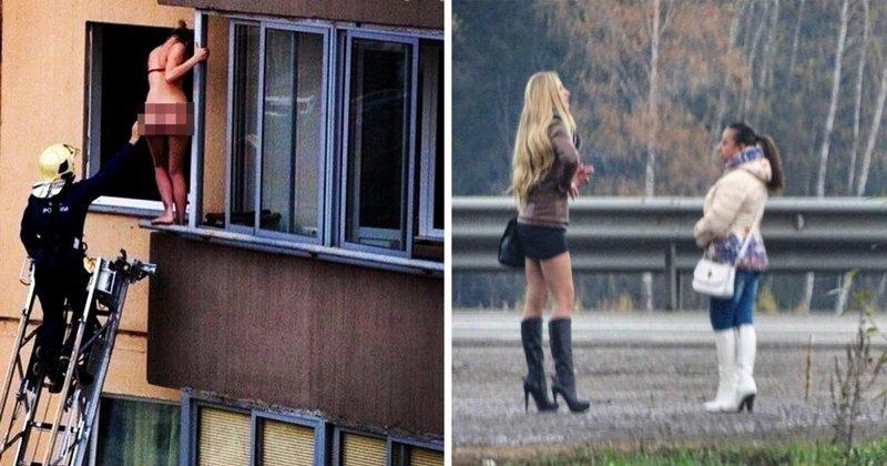 Удивительные приключения проституток в России девушки, подборка, прикол, проституция, работы, трасса, юмор