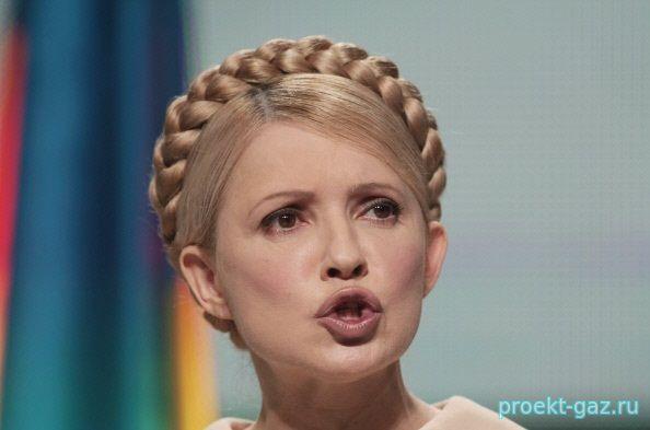 """Тимошенко назвала украинского премьера """"громко лопающейся пупырышкой"""""""