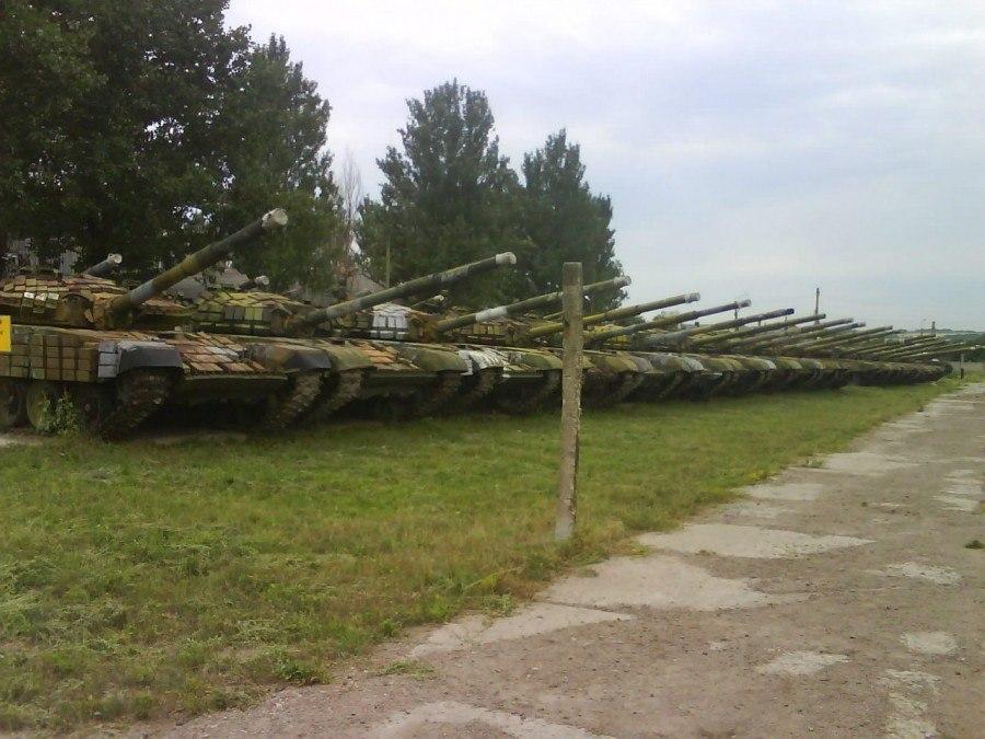 Новороссия формирует первую танковую дивизию