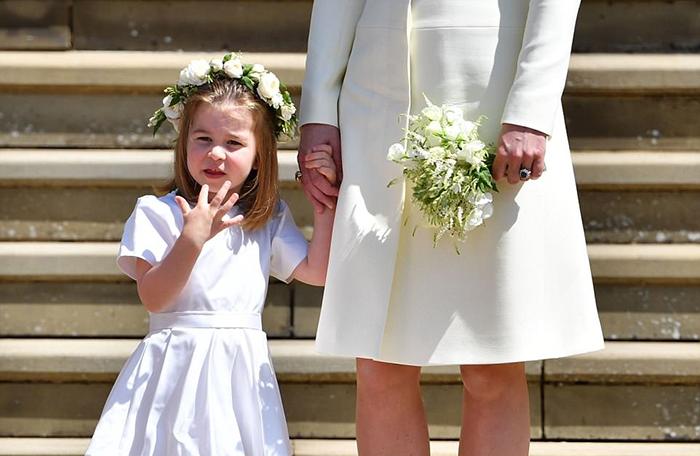 Принцесса Шарлотта на свадьбе года : «Эта девочка буквально затмила саму невесту»