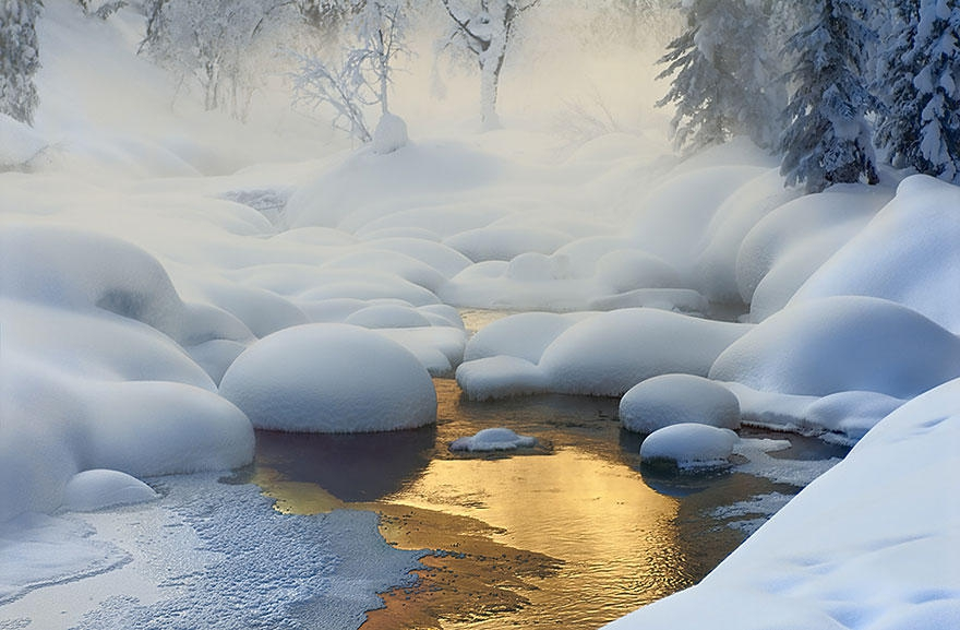 Зимние пейзажи зимние, красивые, фото