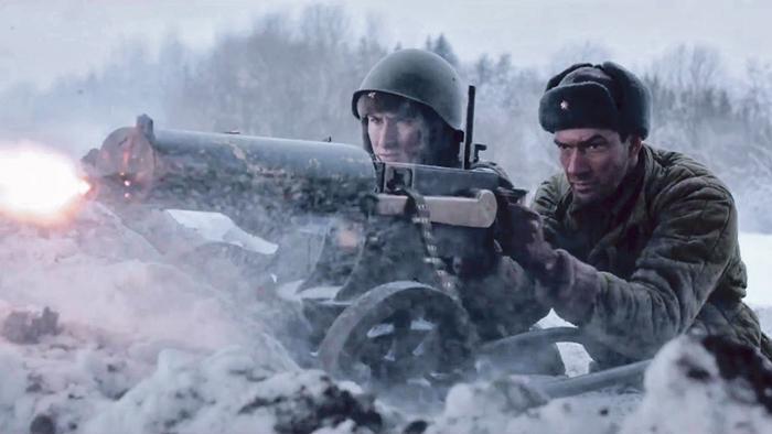 Вальтер и русский пулемётчик