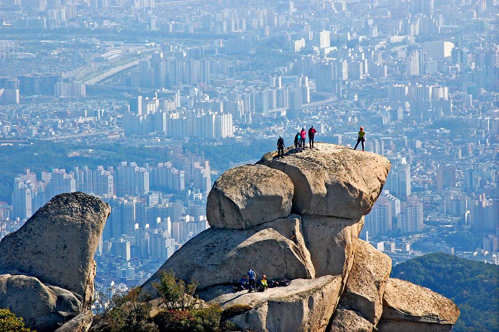 Гора Пукхансан в Сеуле, Южная Корея (23 фото)