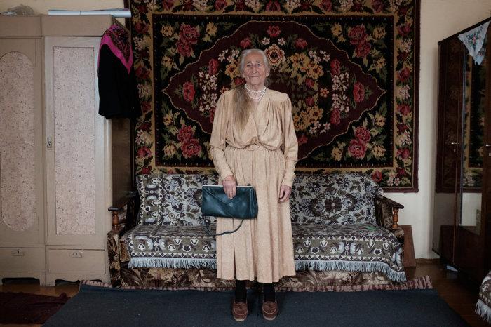 Вере Зенько - стильная бабушка из Беларуси. Автор фотографии: Татьяна Ткачева.