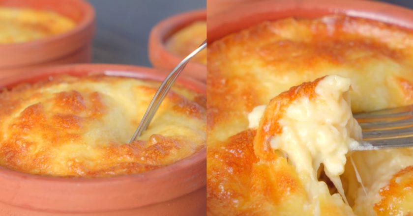 Сырное суфле на завтрак