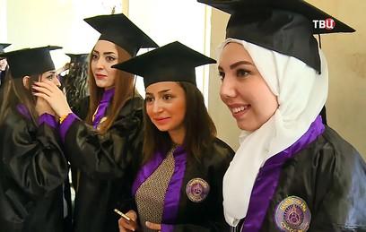 В университете Дамаска состоялся первый выпуск кафедры русского языка