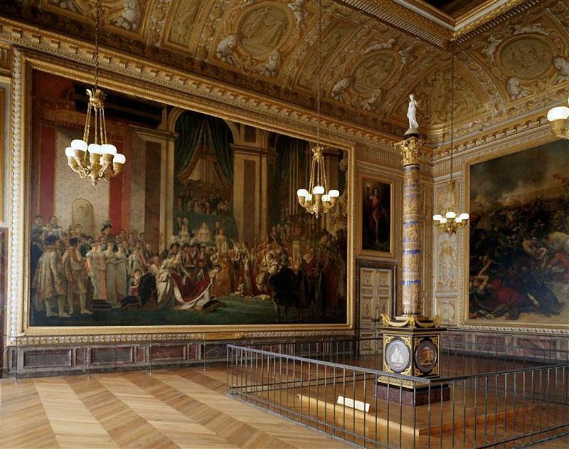 analysis of the coronation of napoleon