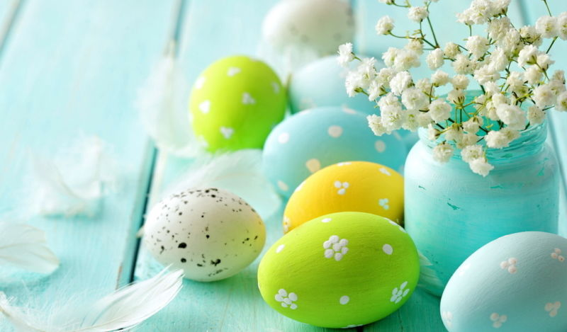 Красим яйца на Пасху очень красиво