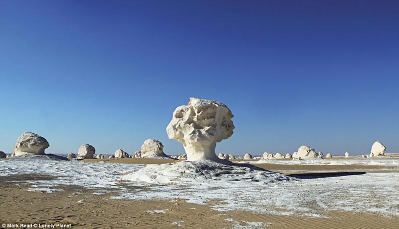 Белая пустыня (White Desert) в Египте красиво, планета, природа, путеводитель, путешествия, туризм, фото, чудо природы