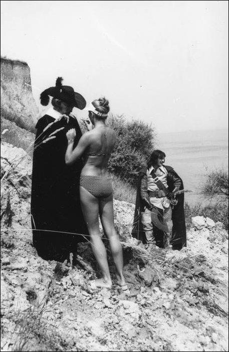 За кадром фильма «Три мушкетера» кино, фото.