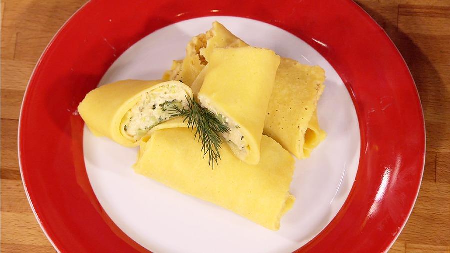 """Блины кукурузные с брокколи и сыром """"Секретные материалы. Овощной сезон"""""""