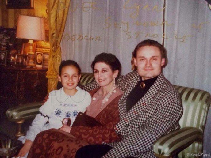Фото матери александра васильева историка моды