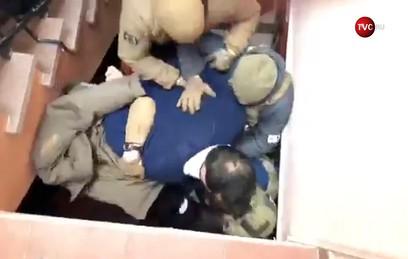 В Сети появилось видео задержания Саакашвили