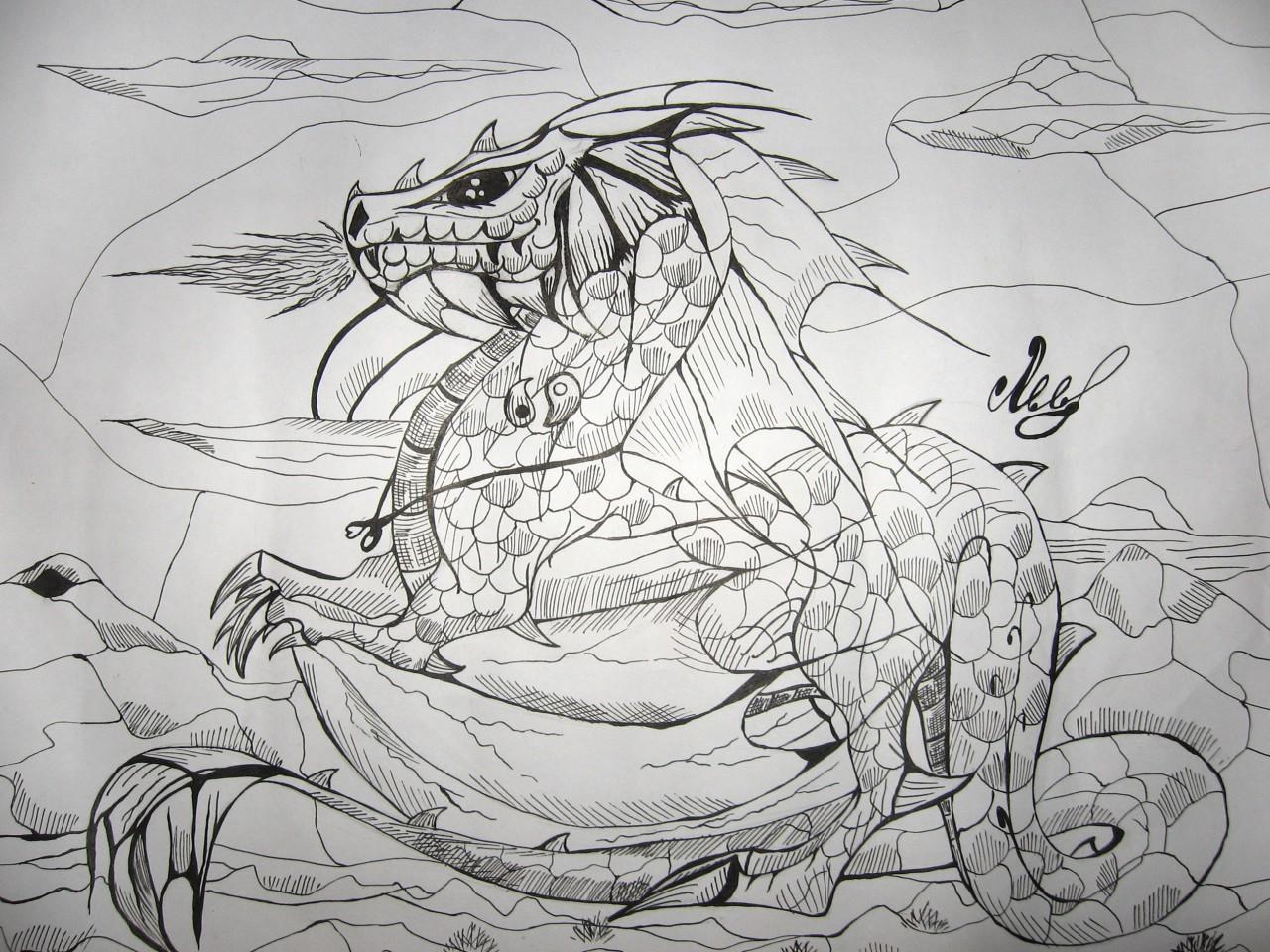 Дракон из легенды