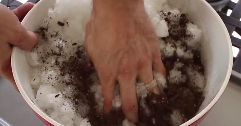 Этот человек использует подгузники в садоводстве. То, до чего он додумался - просто гениально!