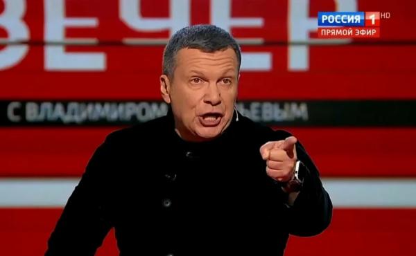 Российский телеведущий Солов…