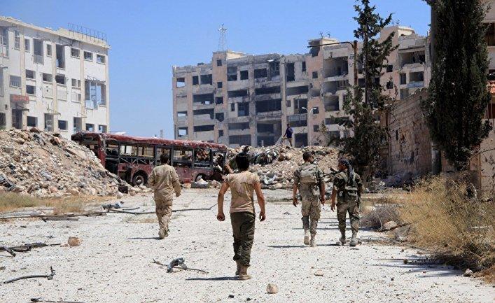 Годовщина победы над терроризмом в Алеппо