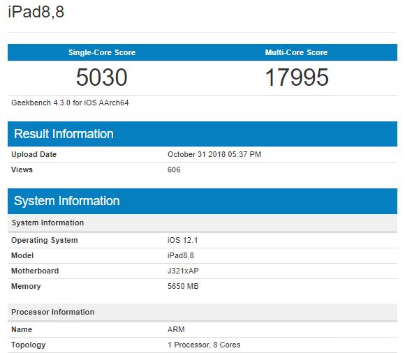 Процессор A12X Bionic поставил рекорд в Geekbench (6 фото)