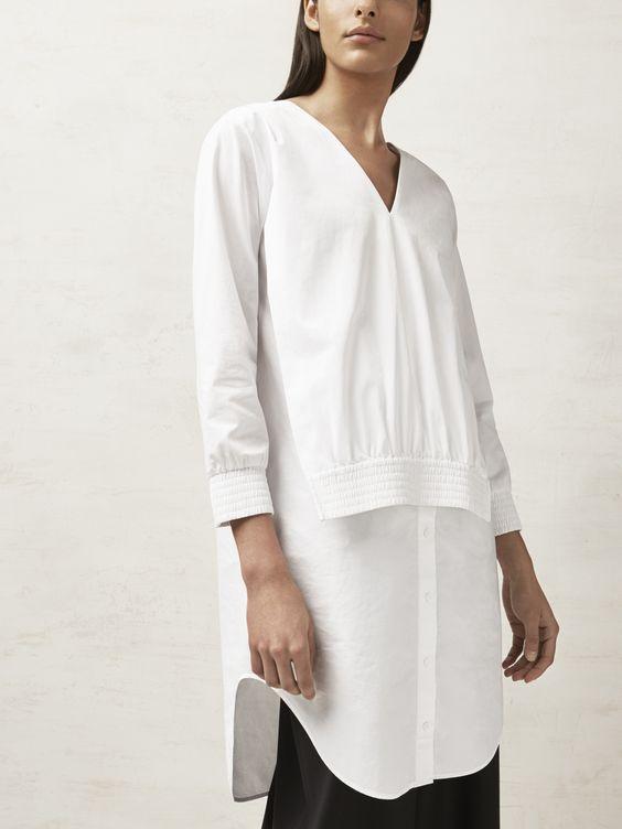 Еще одна белая блузка