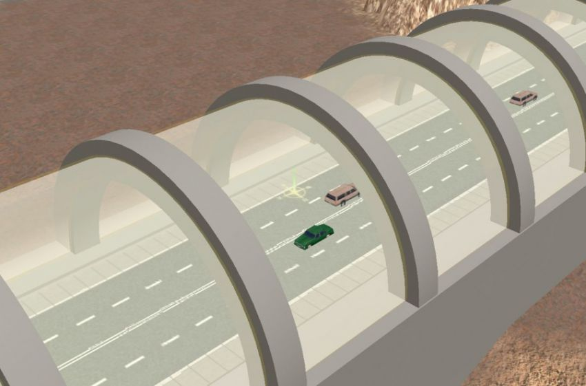 """""""Стеклянные тоннели"""" на Марсе Original"""