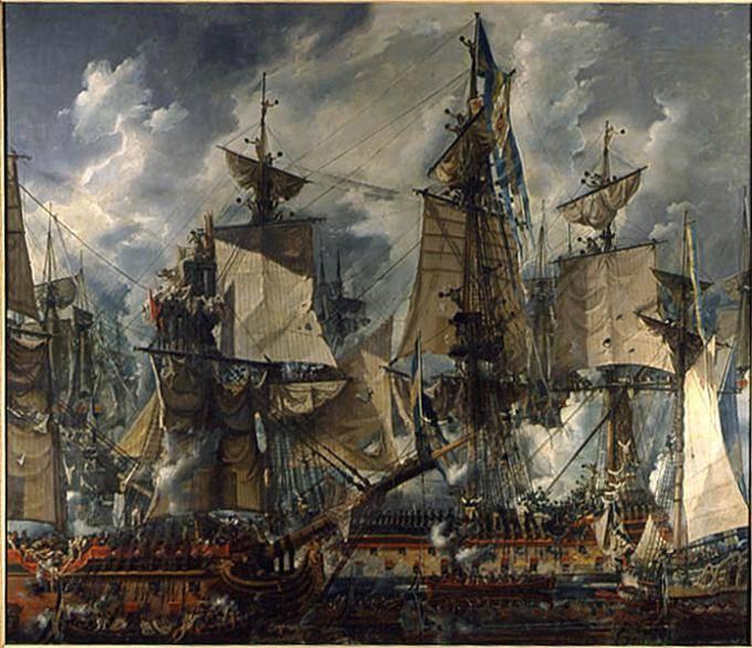 Стратегическая победа русского флота в Гогландском сражении