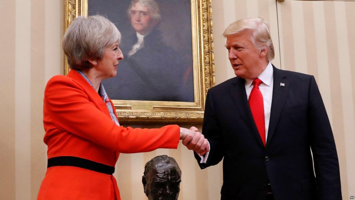 Все любят Трампа: поездка в Британию - веселая клоунада