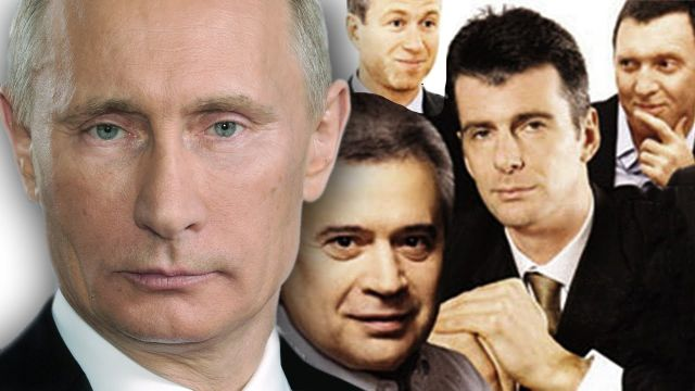 Российские олигархи готовы трижды плюнуть на портрет Путина