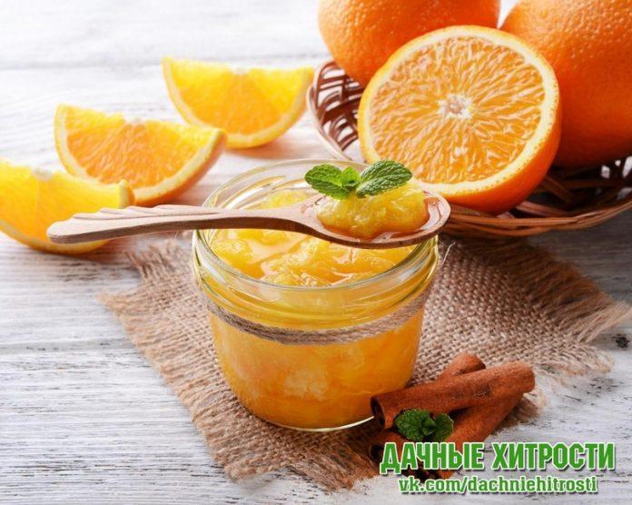 Варенье из груши и апельсина «Неженка»
