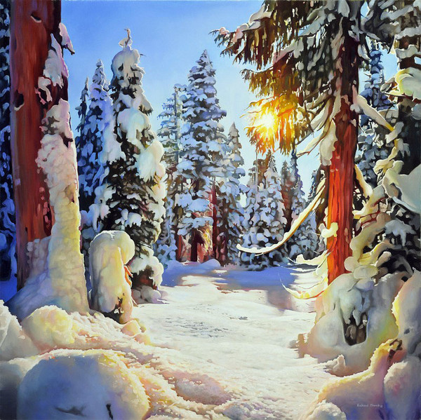 Зимние пейзажи Ричарда Мравика (Richard Mravik)