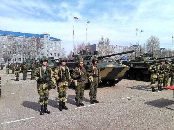 31-й отдельная гвардейская десантно-штурмовая бригада получила первый батальонный комплект БМД-4М